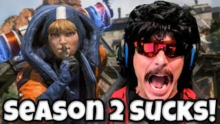 DrDisRespect Reacts To NEW Apex Legends Season 2 Update DrDisRespect Returns To Twitch