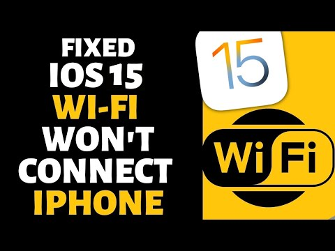 Iphone x not connecting to wifi after update