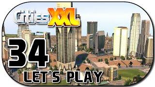 Let's Play Cities XXL Deutsch Part 34 Greenwich Downtown