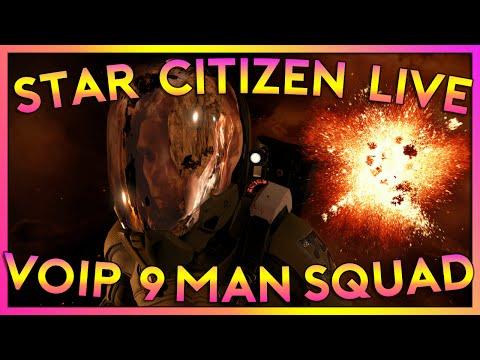 9 MAN VOIP MULTICREW   Star Citizen 2.4.1 Gameplay   Live Wednesday    (7/13/16)