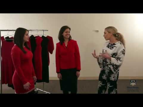 Style expert Melissa Garcia visits Westchester Medical Center's cardiovascular center in Valhalla, New York to share red fashion trends for National Wear Red Day. Featuring Dr. Tanya Dutta of the Westchester Heart & Vascular practice. www.westchester
