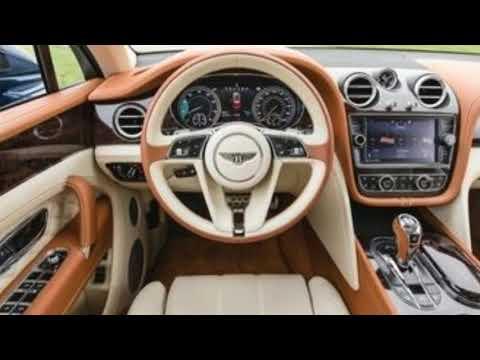 2018 Bentley Bentayga;As decadent as SUVs come.