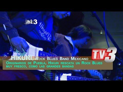 ARTV3: HIKURI Blues Band (Versión Noticiero)