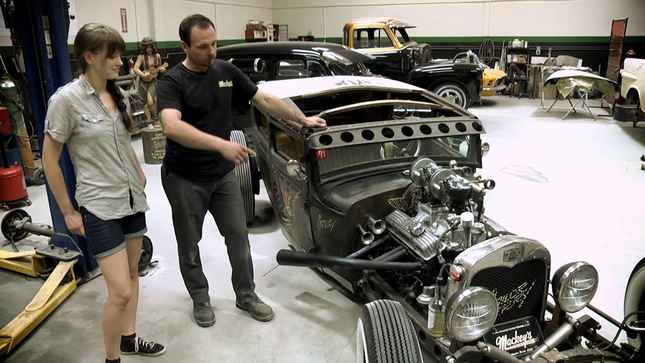 Counting Cars Wallpaper Sailor Jerry Hot Rod Re Build Part Ii Youtube