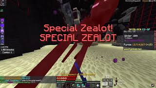 Grinding Zealots For 1 Hour With LEGENDARY Enderman Pet (Bad Luck)