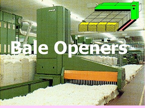 Textile Engineering and Technology Bale Opener Principles