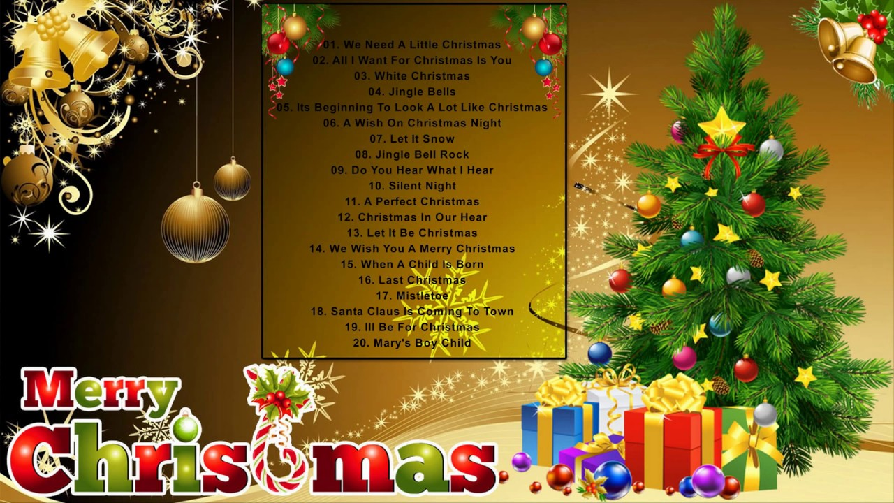 Top 100 Traditional Christmas Songs Best Old Christmas Songs 2019 Popular Christmas Songs Youtube