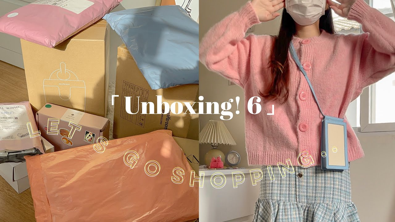 📦 UNBOX EP.6 แกะกล่องช็อปปิ้งออนไลน์ เห่อเสื้อผ้า กระเป๋า ราคาหลักสิบหลักร้อย 🎟🧴✨   Somedayou