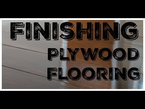 Plywood Flooring - Sanding and Finishing + Cost Estimate (2)