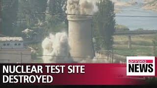 North Korea destroys Punggye-ri nuclear test site on Thursday