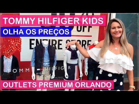 TOMMY HILFIGER KIDS Compras Orlando Premium OUTLETS com PREÇOS no Viajar Muda Tudo!