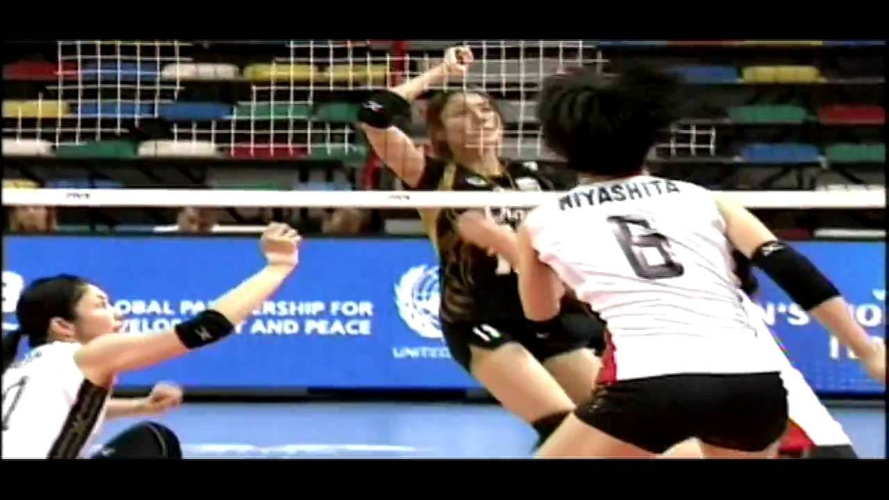 Setter Haruka Miyashita Japan Women S National Volleyball Team Youtube