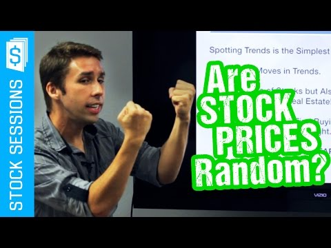 Can You Predict Stock Prices? Not Random! [Stock Market 101 Course #05-01]