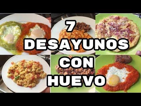 7 Desayunos con Huevo Desayunos Faciles y Rapidos/FABI CEA