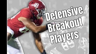 LaBryan Ray and Eyabi Anoma will be the Alabama Crimson Tide Football breakout players on d