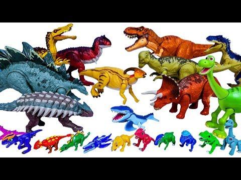 미니 공룡이 커졌다. 공룡메카드 타이니소어 쥬라기월드 공룡 장난감 변신놀이