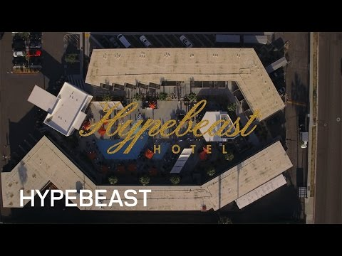 Inside the HYPEBEAST Hotel Party at V Palm Springs California