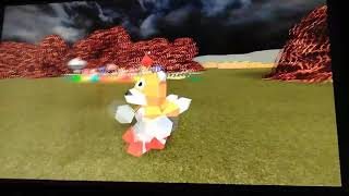 Little man playing roblox (tails doll edition)