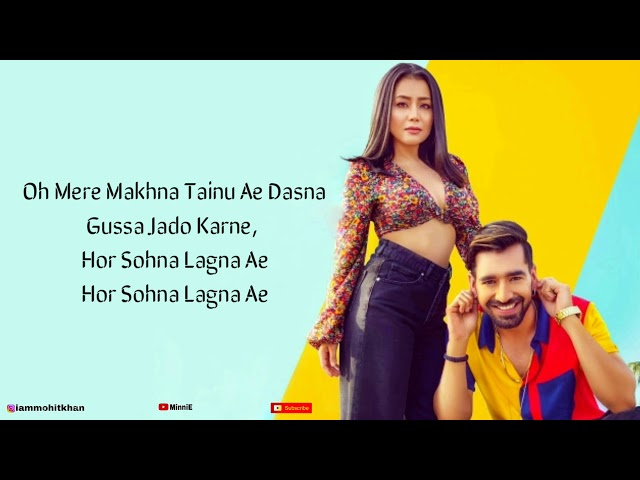 Sorry Song (LYRICS) Neha Kakkar | Maninder Buttar
