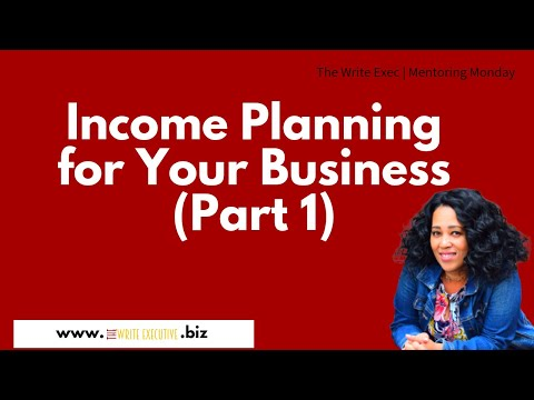 The Write Exec Tips | Income Planning for Your Virtual Assistant Business