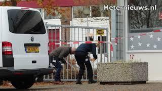 Technisch onderzoek politie na bedrijfsbrand Assen