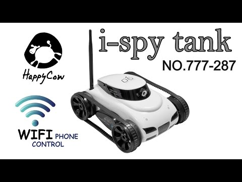 i-Spy Tank (no.777-287) by HappyCow with 0.3MP camera, Wi-Fi phone cintrol