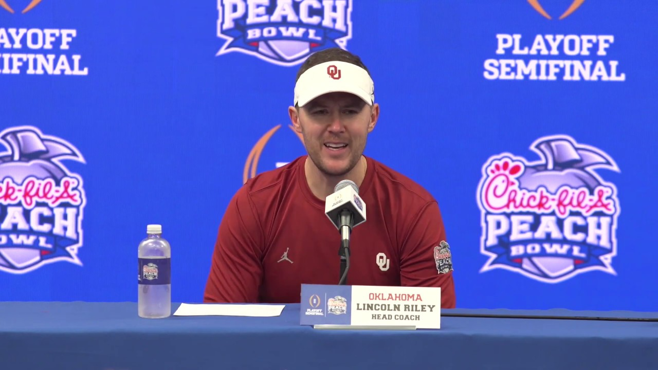 Oklahoma Sooners Peach Bowl Post-Game Reaction from ...