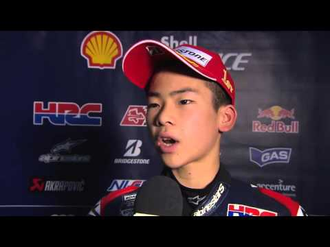 Shell Advance Asia Talent Cup – Round 5 – Race 1 – Sasaki - Interview - English