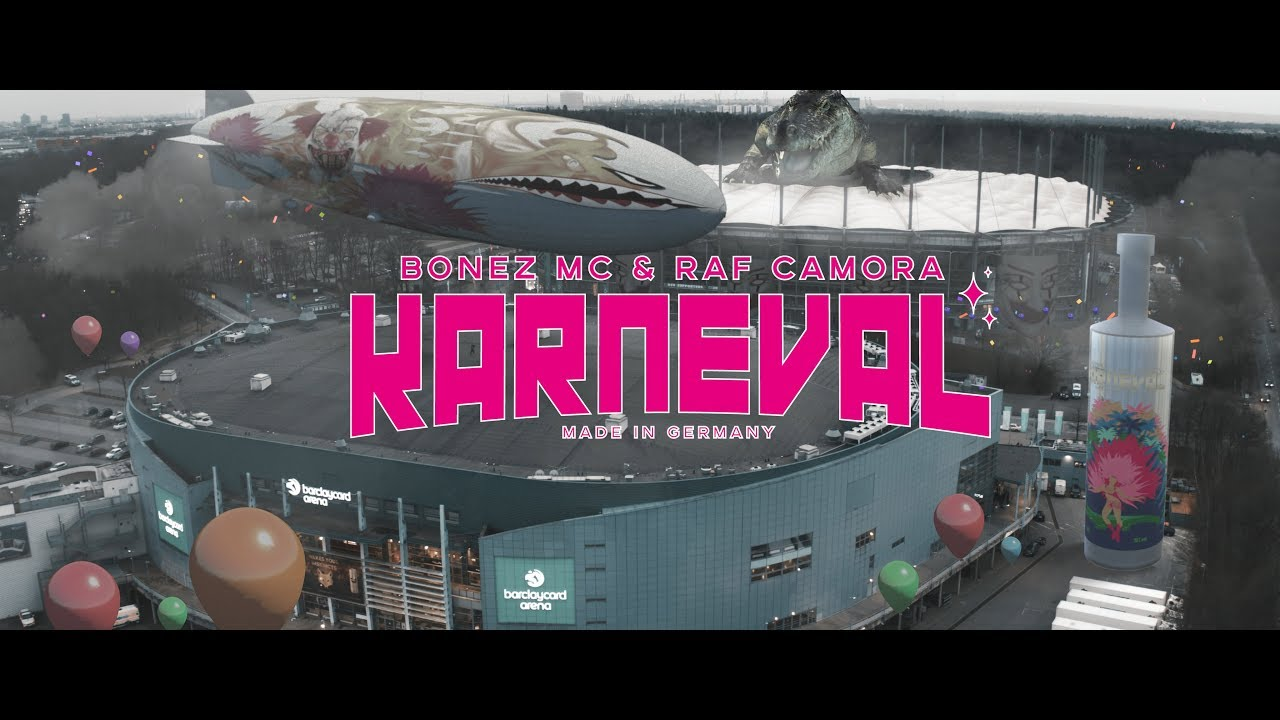 BONEZ MC & RAF CAMORA - KARNEVAL (prod. by X-Plosive)