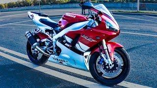 Пытался навалить 300, но не пошло. Тест драйв Yamaha R1 на карбах! #Докатились!