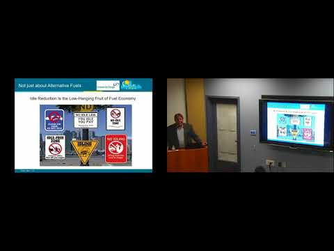 Sustainability Seminar Series: Alternative Fuels and Vehicles (Chuck Feinberg)