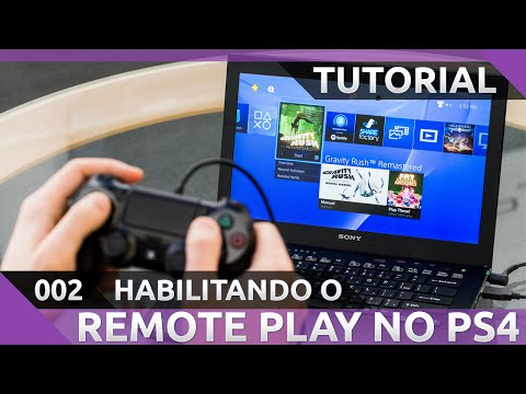 TUTORIAL] Habilitando o Remote Play no Sony PS4 (Acesso
