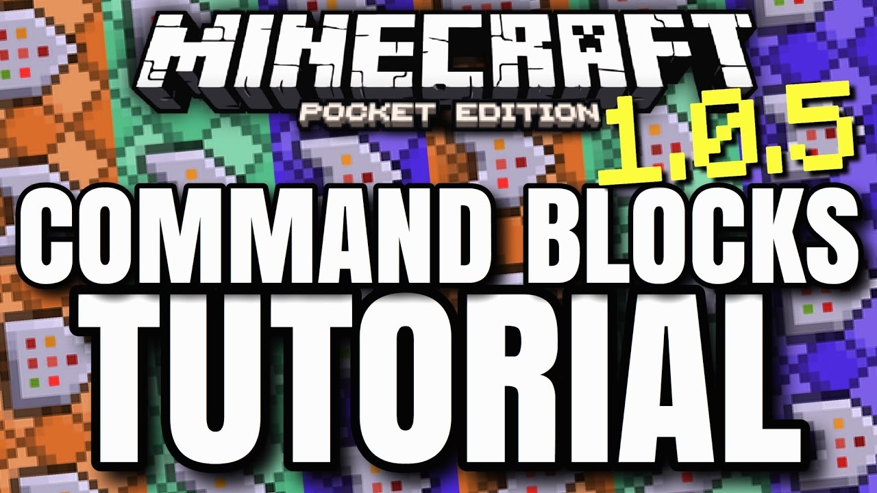 how to get command blocks in minecraft pe 1.2