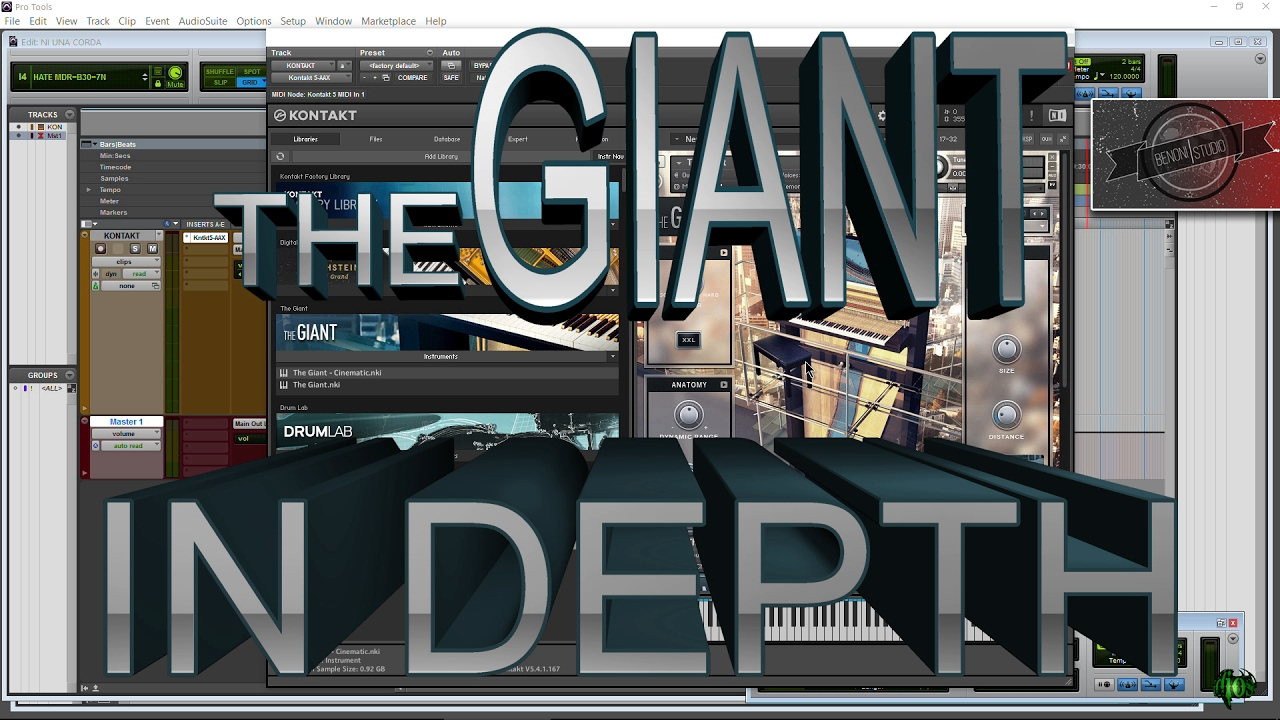 THE GIANT   IN DEPTH