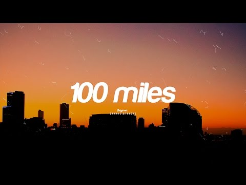 """100 MILES"" - Chill Beat Instrumental / Rap Beat  ( Prod. dannyebtracks)"