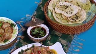الخبز النان الهندي - ايمان عماري