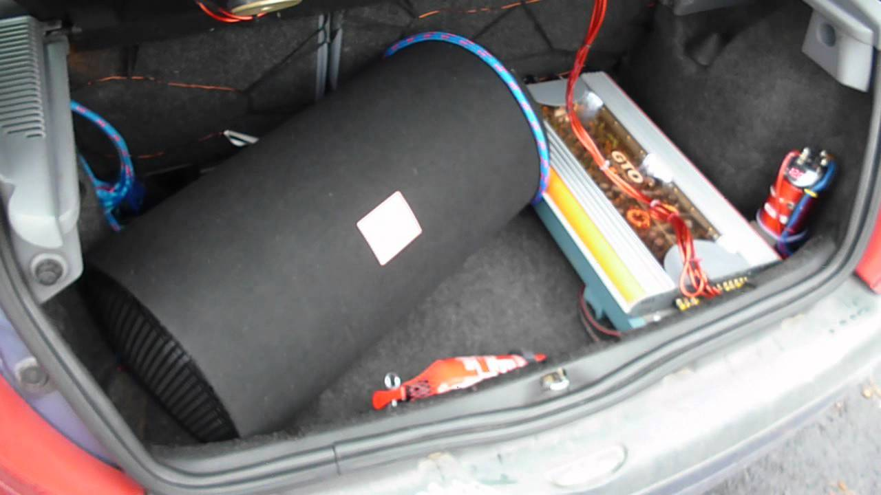 Car Audio Clio Ii Jbl Gto 6000 1202d Mega Bass Hd