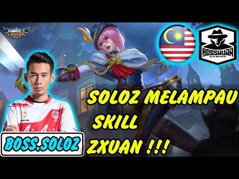 Soloz Melampaui Zxuan !!! Emang Beda Tornado Soloz Dengan Fanny Lainnya !!!