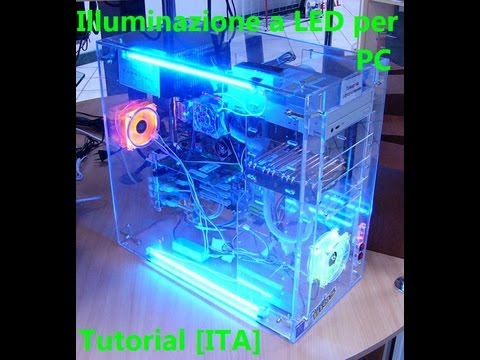 Illuminazione a led per pc tutorial ita youtube for Illuminazione a led