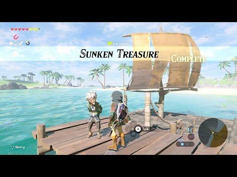 Zelda: BOTW (Sunken Treasure) Side Quest