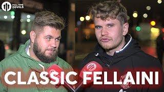 Howson & Statman; Classic Fellaini! | Manchester United 3-0 FC Basel | FANCAM