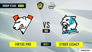 Virtus.pro vs Cyber Legacy (игра 1) BO3 | ESL One Los Angeles | Online