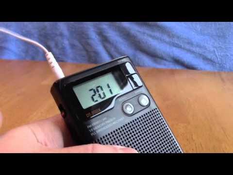 Sangean Pocket radio DT200X