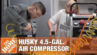 Husky 4.5-Gal. Air Compressor | The Home Depot