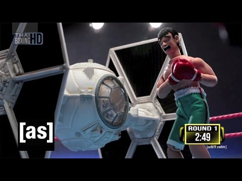 Star Wars TIE Fighter vs. Thai Fighter | Robot Chicken | Adult Swim