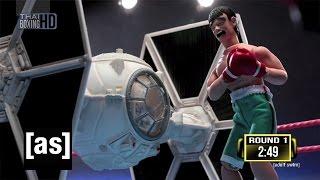 Star Wars Tie Fighter Vs. Thai Fighter | Robot Chicken | Adult Swim