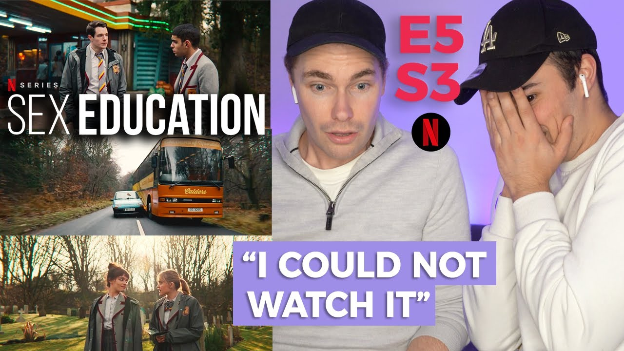 Download SEX EDUCATION S3 E5 HE THREW WHAT! OUT THE WINDOW | GAY GUYS REACT | Corey Schultz