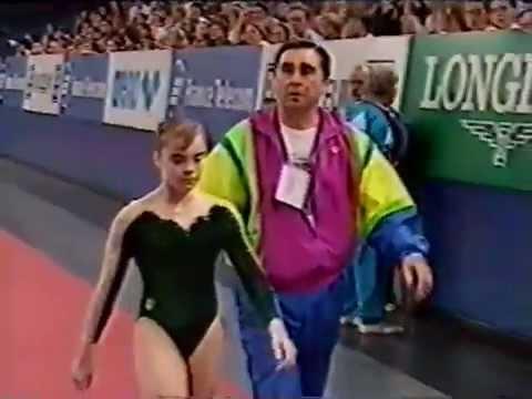 1996 European Gymnastics Champs Women's EF