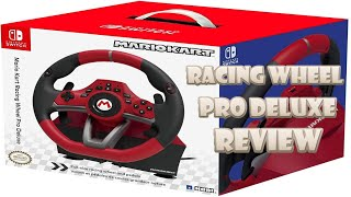 HORI Racing Wheel Pro Deluxe Review (Video Game Video Review)