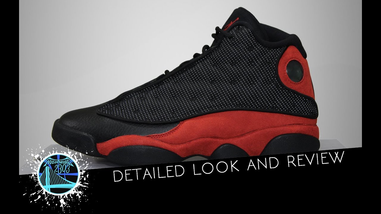 50b631f21019 Air Jordan 13 Retro Black Red 2017 - YouTube